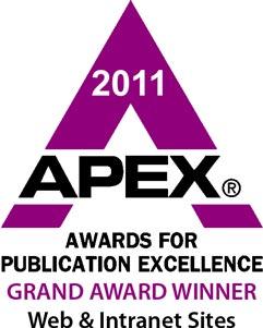 HR360 wins a 2011 APEX Awards Grand Award Winner for Web & Intranet Sites