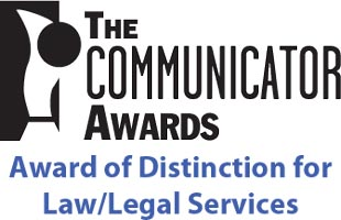 HR360 wins a 2011 Communicator Award Award of Distinction For Law/Legal Services