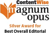 HR360 wins a 2011 Magnum Opus Silver Award for Best Overall Editorial