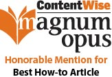 HR360 wins a 2011 Magnum Opus Honorable Mention for Best How-to Article