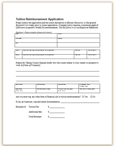 compensation and reimbursement