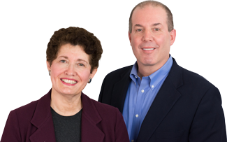 Lillian Shapiro and Tom Ceconi founders of HR 360, Inc.