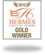 2012 Hermes Creative Gold Award for Writing and Publication Overall