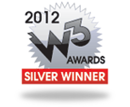 2012 W3 Awards Silver Winner for Legal Content